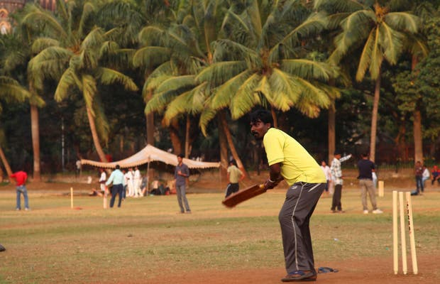 Cricket à Bombay