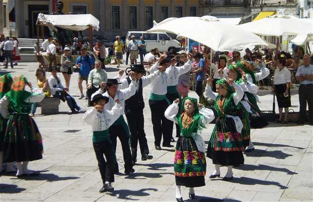 Regional Dances in the Republic Square