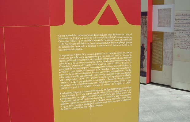 Exhibition of Alfonso IX and his Kingdom