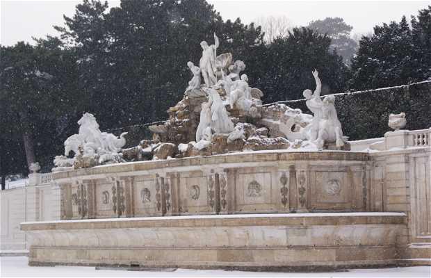 Fuente de Neptuno, Schönbrunn