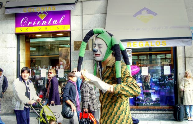 Puppeteers on the Streets of Madrid