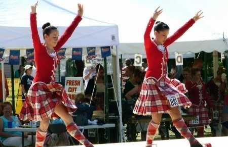 Juegos de las Tierras Altas de Escocia.