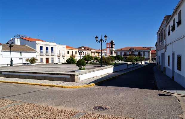 Plaza de Hernán Cortés