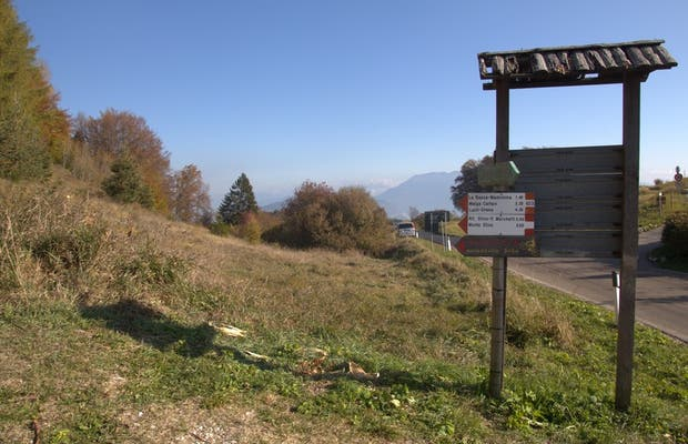 Passo Bordala, Ronzo-Chienis, Italia