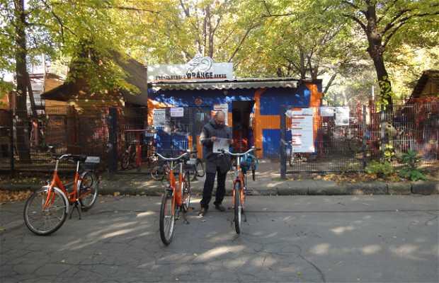 Prenzlberger Orange Bikes