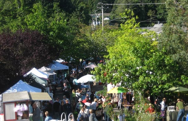 Salt Spring Island's Saturday Market