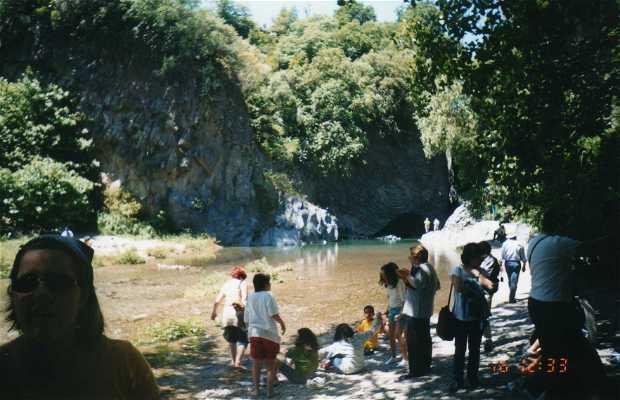 The Alcantara Gorges