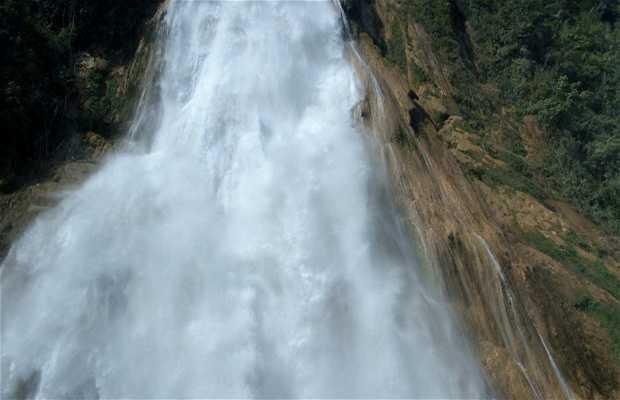 El Chiflón Waterfalls