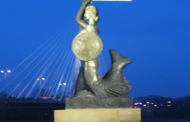 The other Mermaid of Warsaw