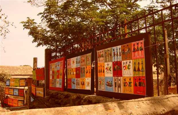 Mercado de la isla de Gorée