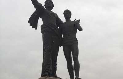 Estatua de los Mártires