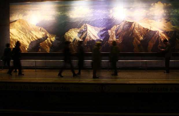 Arte Metro La Moneda