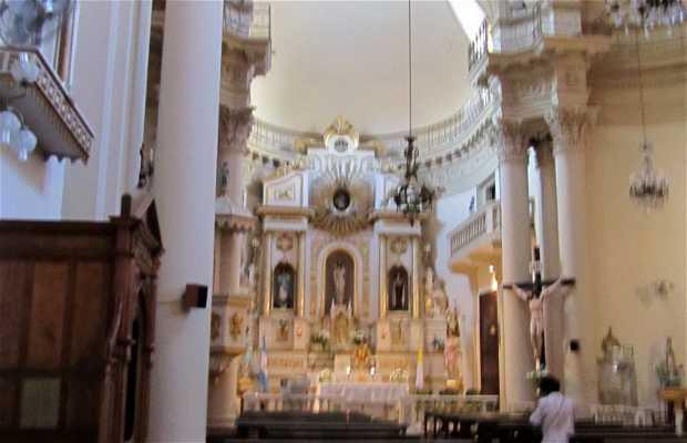 """Interior de la Iglesia """"San José de la Caridad"""""""