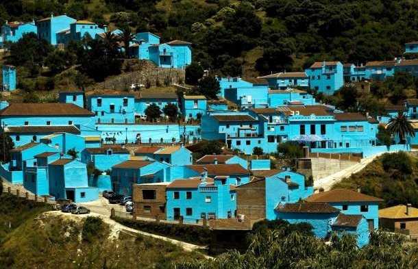 Pueblo Pitufo Málaga