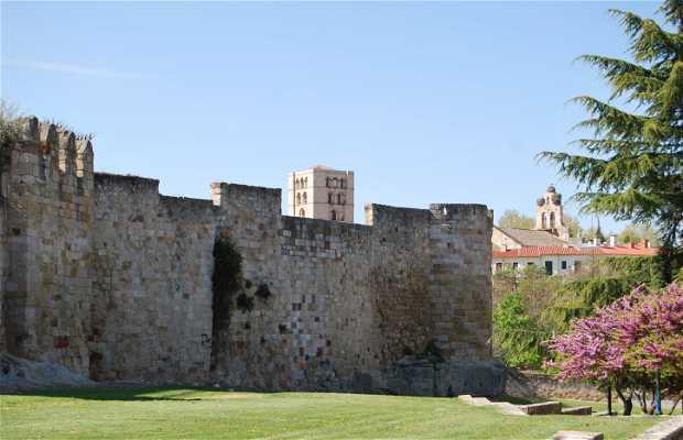Muralla en Zamora.