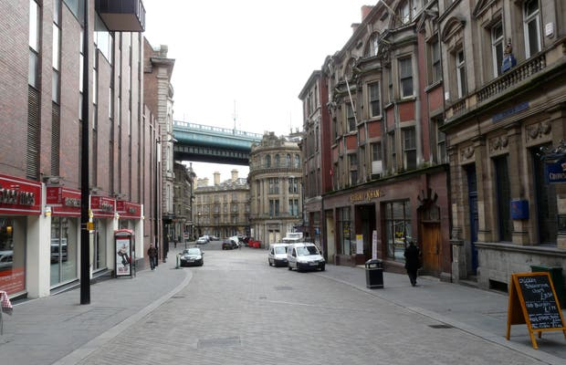 Quayside a Newcastle