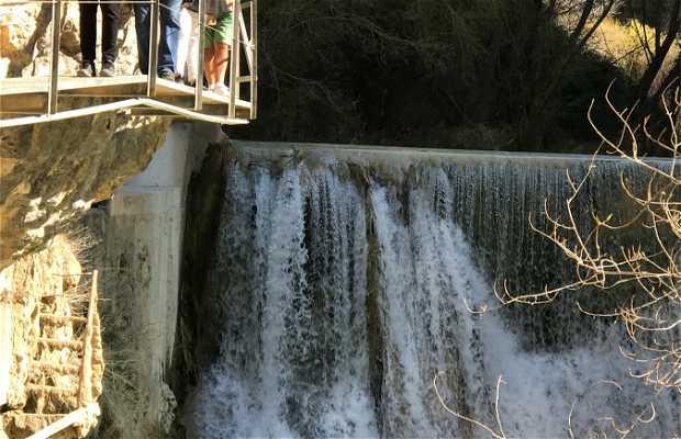 Cascada en Alquézar