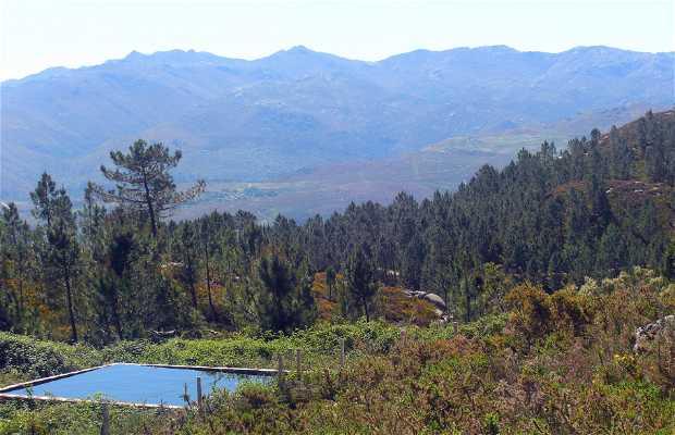 Montagnes de Entrimo serras do Quinxo y Anaman