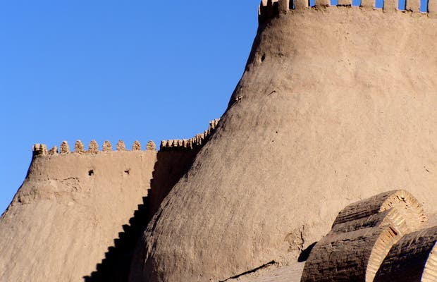 Las murallas de Khiva