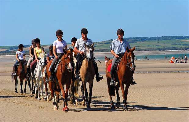Paseo a caballo en Marruecos
