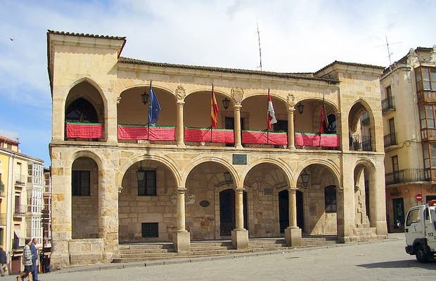 Place principale de Zamora