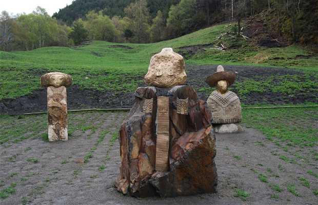 Grupo escultórico 'La familia Jordino'