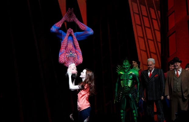 Broadway Spiderman
