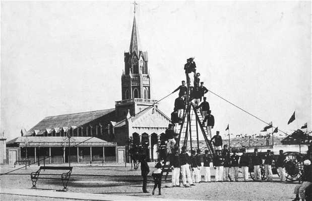 Primera estacion de ferrocarril sudamericana