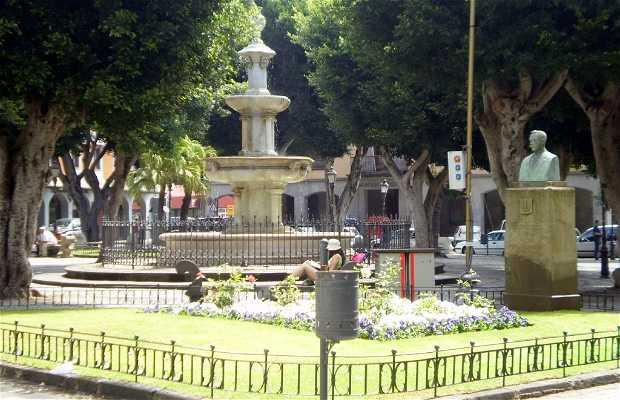 Plaza del Adelantado della Laguna