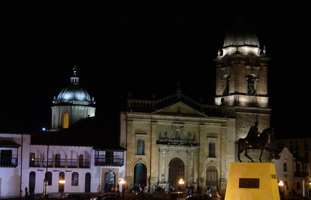 Plaza principal de Tunja