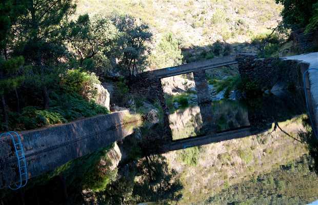 Ruta sendero al Chorrituelo de Ovejuela