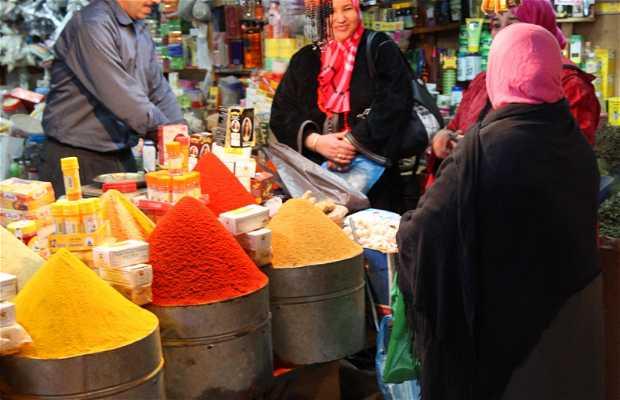 Berber souk