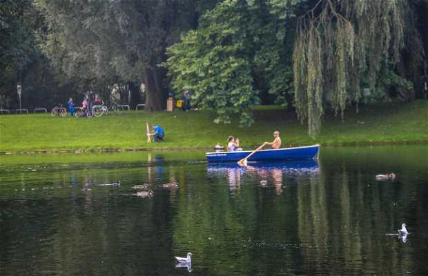 Lago del Olympiapark
