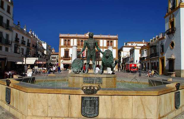 Plaza del Socorro y sus alrededores