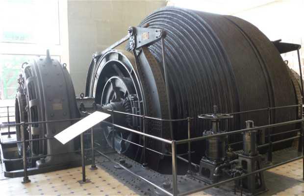 La maquinaria de la mina de sal