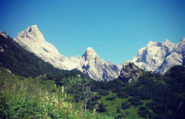 Monte Duranno, Val Cimoliana