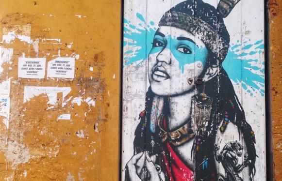 Street Art en Getsemaní