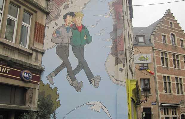 Murales Broussaille - Frank Pé