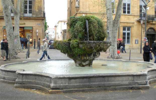 Fontana delle 9 canne a Aix-en-Provence