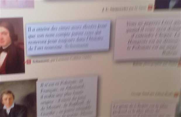 Exposición Frédéric Chopin