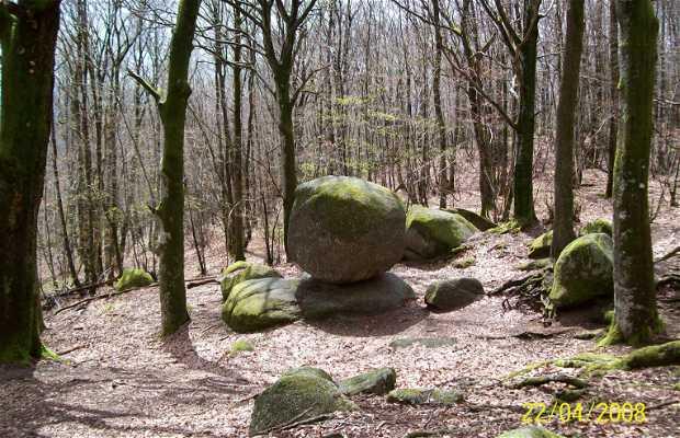 Les rochers d'Uchon