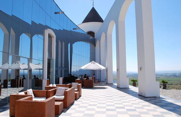 restaurante de Vina Indomita