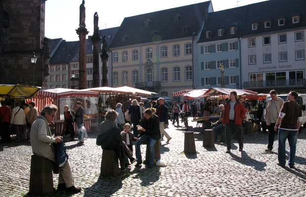 El mercado de Friburgo