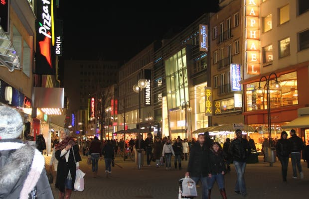 Desde Hohe Straße hasta Schildergasse