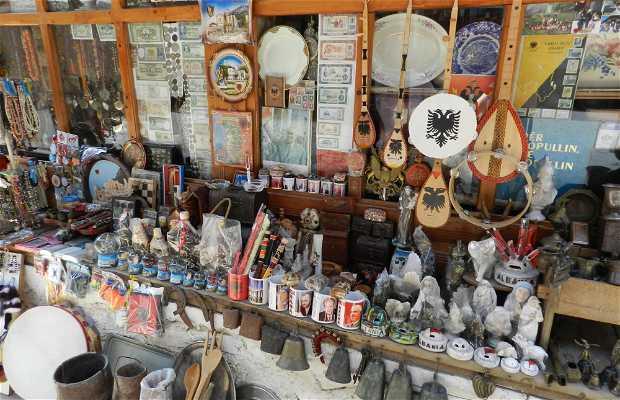 Vieux bazar - Magasins traditionnels albanais