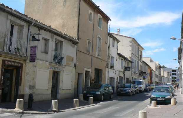 Calle del Faubourd Boutonnet