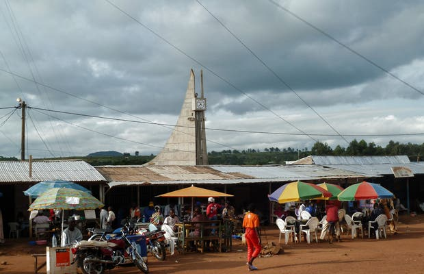 Tren Ngaoundere - Yaoundé