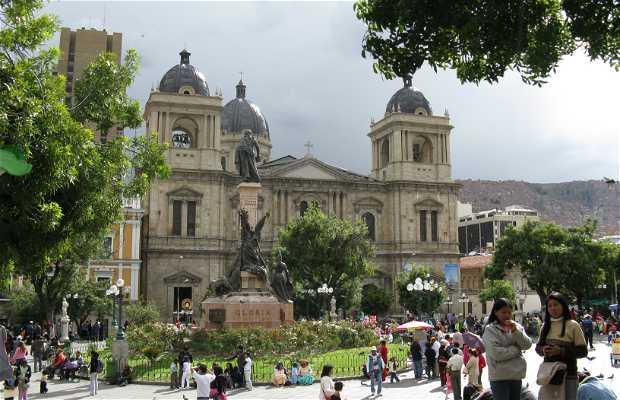La Catedral Metropolitana Nuestra Señora de La Paz