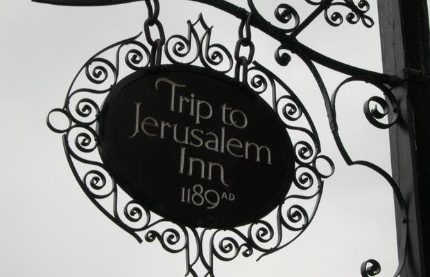 Pub Trip to Jerusalem a Nottingham