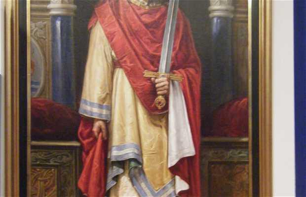 Retratos de los Reyes del Ayuntamiento de Leon